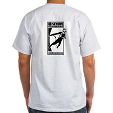 Gravity Fueled Wingsuit Skydiving T-Shirt