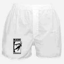 Gravity Fueled Wingsuit Skydiving Boxer Shorts