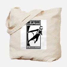 Gravity Fueled Wingsuit Skydiving Tote Bag