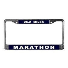 Marathon License Plate Frame