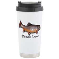 Brook Trout Ceramic Travel Mug