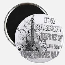 Im Rockin Grey for my Nephew Magnet