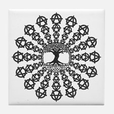 Anarchy tree of life Tile Coaster