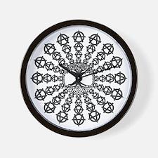 Anarchy tree of life Wall Clock