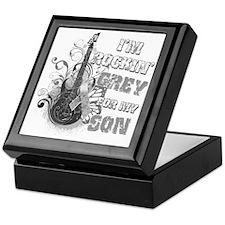 Im Rockin Grey for my Son Keepsake Box