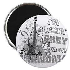 Im Rockin Grey for my Grandma Magnet