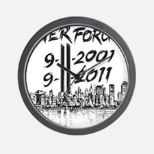 NeverForget Wall Clock