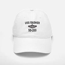 USS RASHER Baseball Baseball Cap
