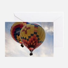 Balloon Poster Greeting Card