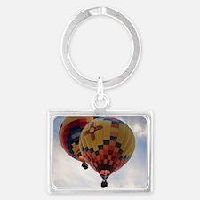 Balloon Poster Landscape Keychain