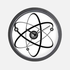 10x10_apparel_Atom Wall Clock
