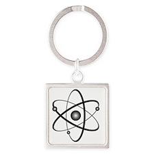 10x10_apparel_Atom Square Keychain