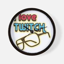 I Love Twitch Wall Clock