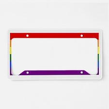 Gay Pride License Plate Holder
