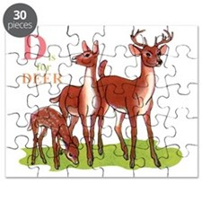 D is for Deer Puzzle