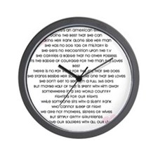 Joelle Raglan Back Wall Clock