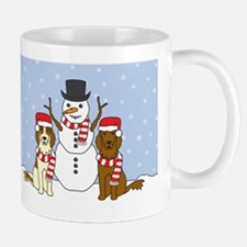 settersWinter_card Mug