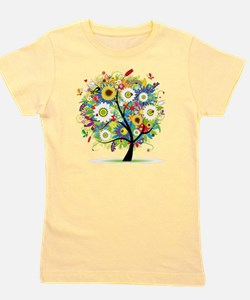 Trees5 [Converted] Girl's Tee