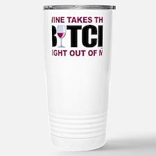 Wine-Bitch Stainless Steel Travel Mug
