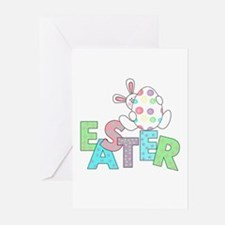 Bunny With Easter Egg Greeting Cards (Pk of 10