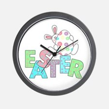 Bunny With Easter Egg Wall Clock