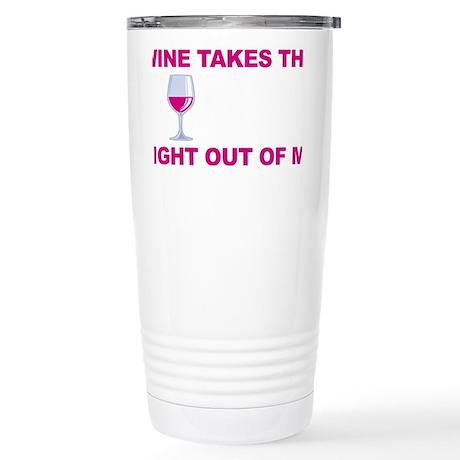 Wine-Bitch-blk Stainless Steel Travel Mug