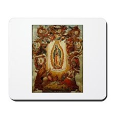 Apparitions of Guadalupe Mousepad
