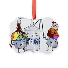 foodarthotfudgebath Ornament