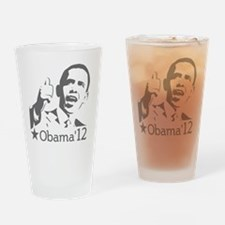 OBAMA_CHARCOAL-01 (2) Drinking Glass