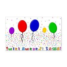 Xhosa Happy Birthday Rectangle Car Magnet