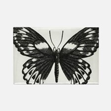 butterflydarksm Rectangle Magnet