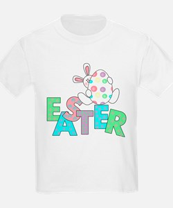 Bunny With Easter Egg Kids T-Shirt