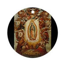 Apparitions of Guadalupe Ornament (Round)