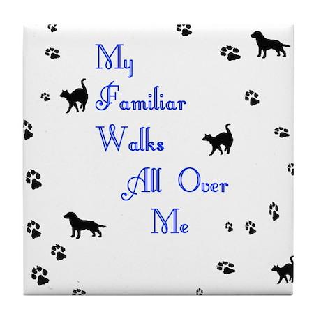 My Familiar Tile Coaster