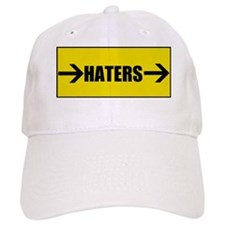 Haters to the Left! Baseball Cap