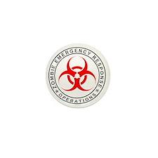Zombie Emergency Response Operations Mini Button