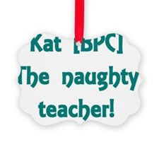 Kat Ornament
