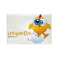 not-nuggets-black-fr-01 Rectangle Magnet