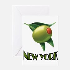 OLIVE NEW YORK Greeting Card