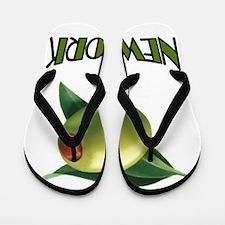 OLIVE NEW YORK Flip Flops