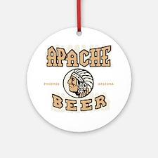 apachebeercolor Round Ornament