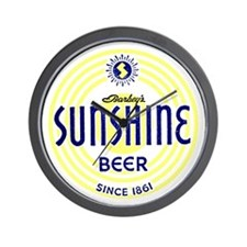 sunshinebeer Wall Clock