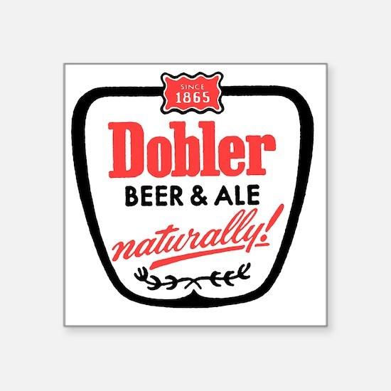 """doblerbeerwhite Square Sticker 3"""" x 3"""""""