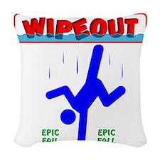 FallGuys08 Woven Throw Pillow