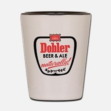 doblerbeerwhite Shot Glass
