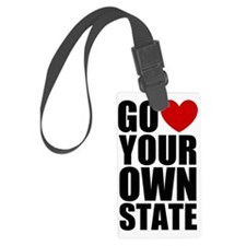 Go 3 Your Own State Luggage Tag