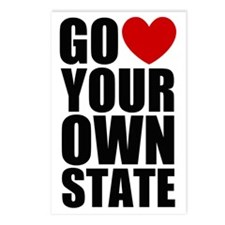 Go 3 Your Own State Postcards (Package of 8)