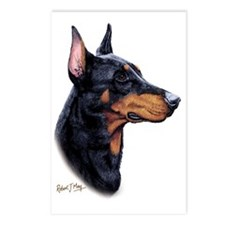 Dobermann2 Postcards (Package of 8)