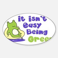 beinggreen Sticker (Oval)