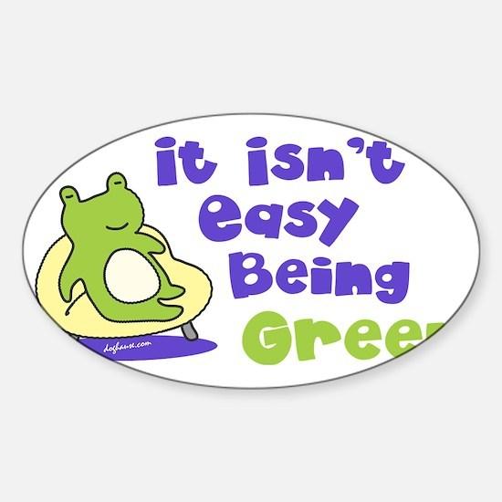 beinggreen Sticker (Oval)